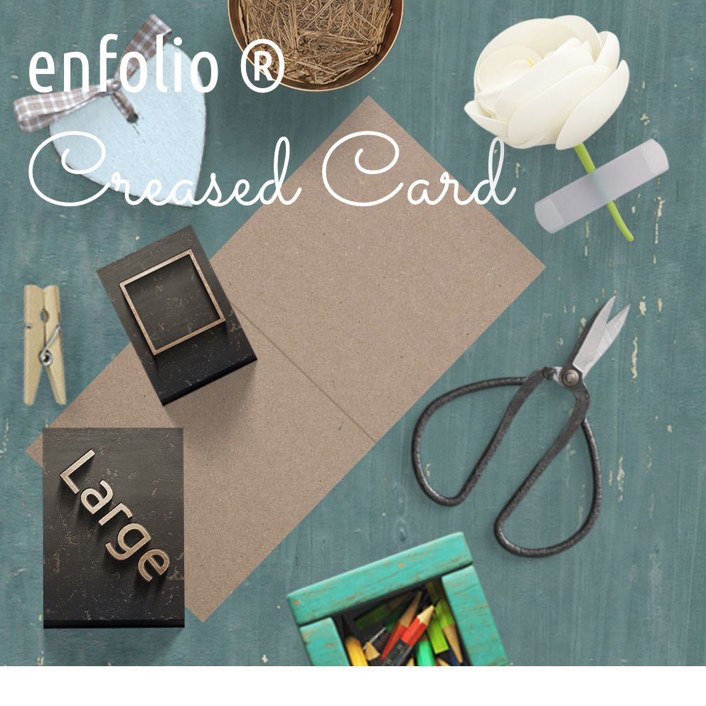 Large Square Creased Cards category image