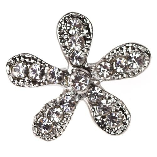 Diamante Flower Embellishments category image
