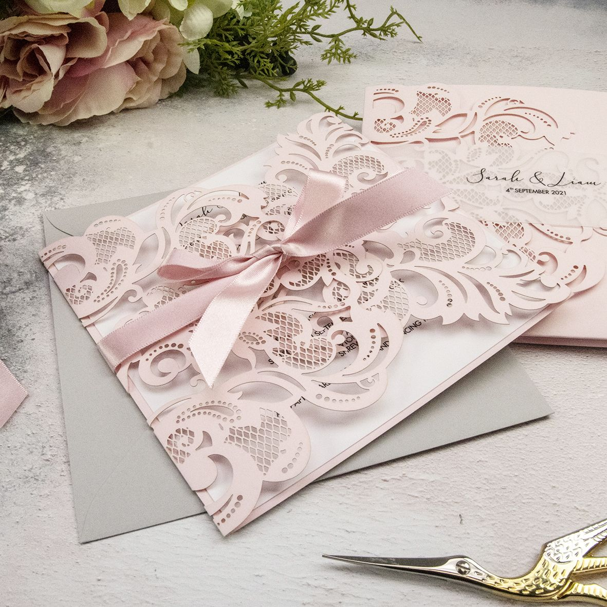 Laser Cut Wedding Stationery category image