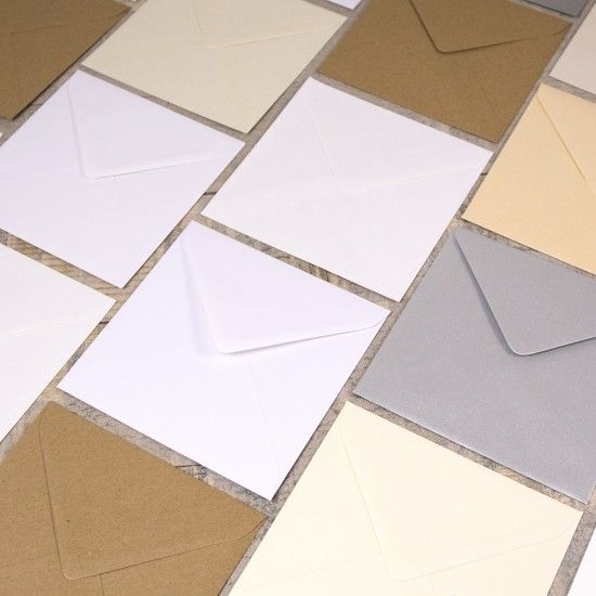 Large Square 155mm Envelopes