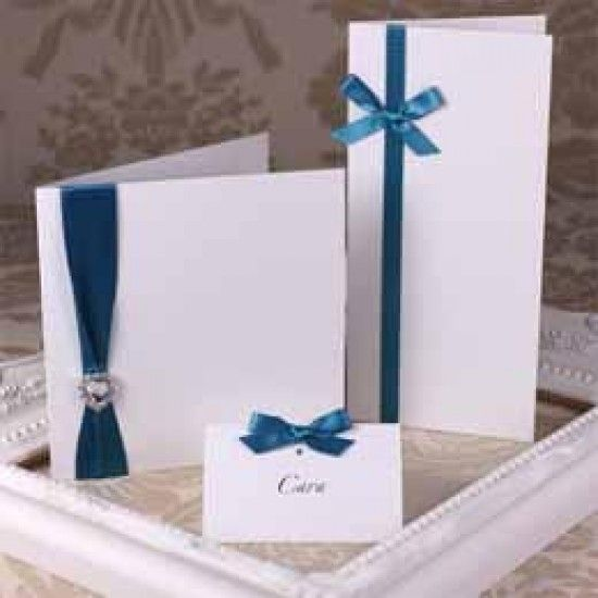 Accent Antique White Creased Cards