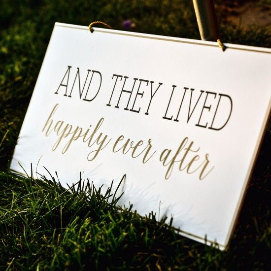 'And They Lived Happily Ever After' Gifts