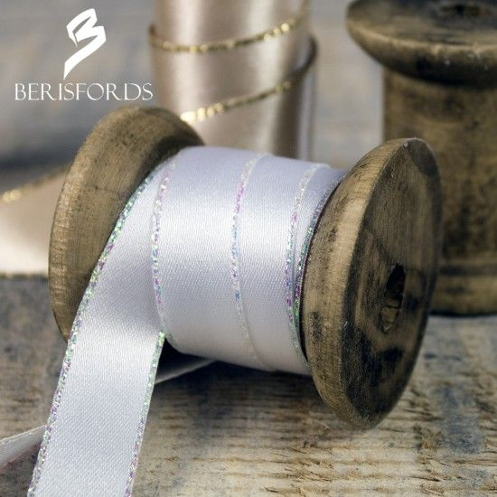 Berisford's Metallic & Iridescent Edged Satin