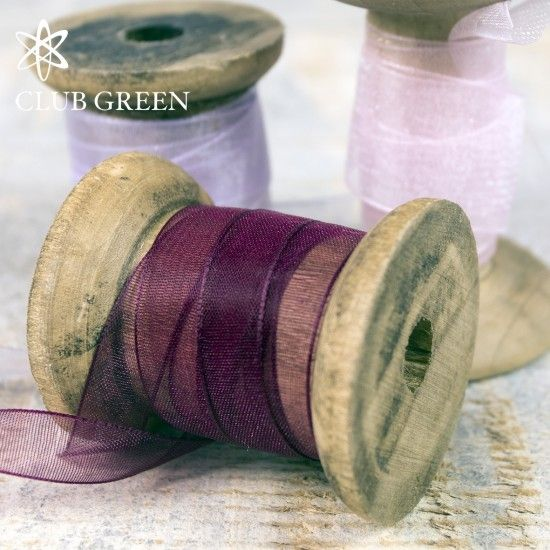 Club Green Organza Ribbon