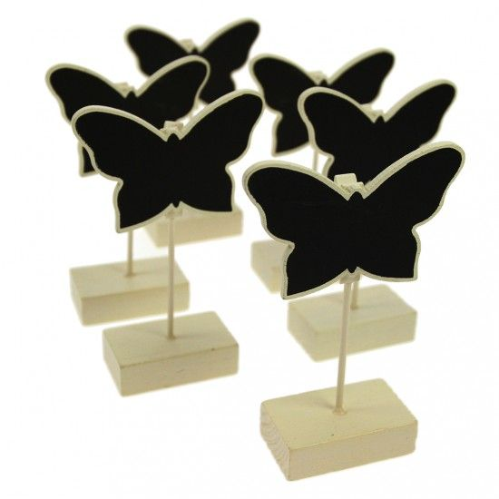 Chalkboard Place Settings, Clips, Picks and Tags