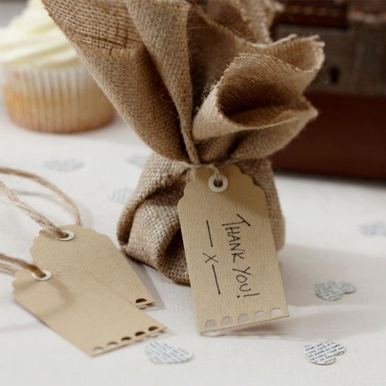 Wedding Favour Labels and Tags