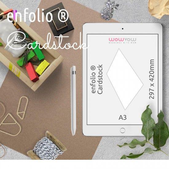 Enfolio ® Cardstocks A3