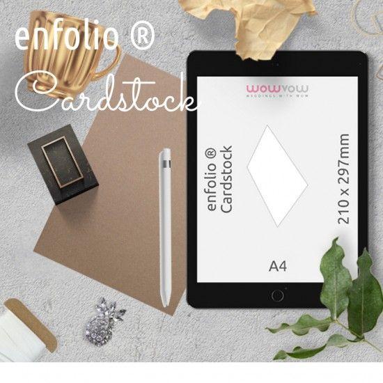Enfolio ® Cardstocks A4