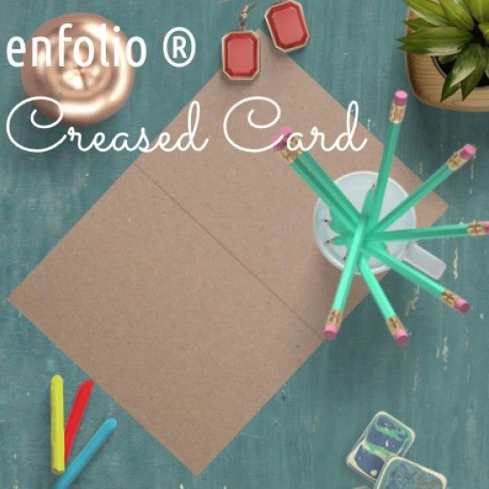 Enfolio ® Blank Creased Cards