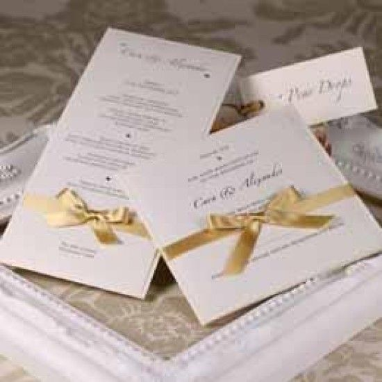 Ivory Gold Shimmer Card Stock