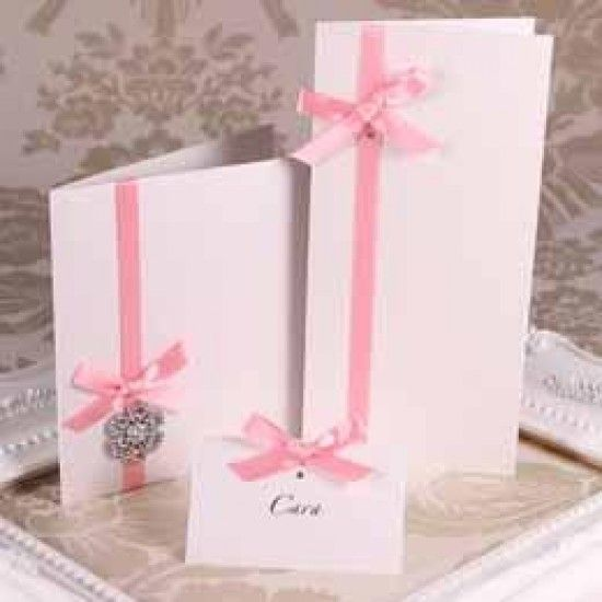 Ivory Pearl Creased Cards