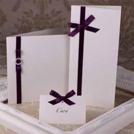 Ivory Sparkle Creased Cards