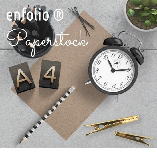 Enfolio ® Paper Stocks and Inserts