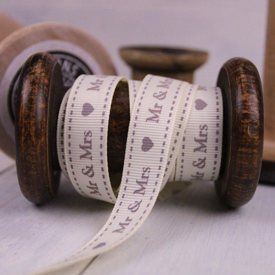 Wedding Gift Ribbons and Fabric Labels