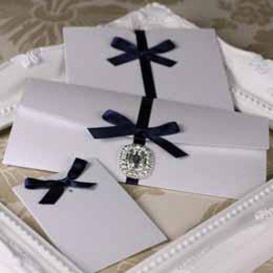 Silkweave Crystal White Enfolios ®