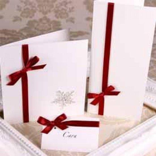 Silkweave Ivory Creased Cards
