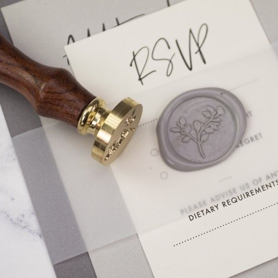 Sealing Wax and Wax Seal Stamps