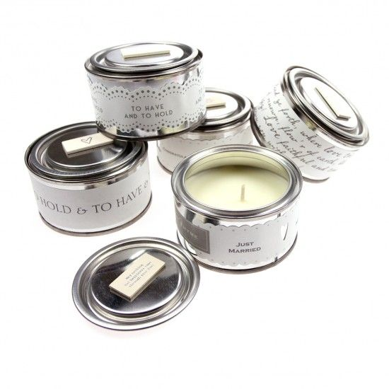 East of India Tin Candles