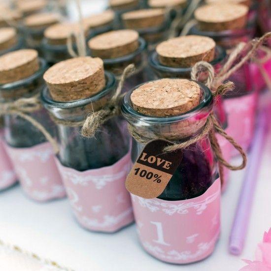 Favour Bottles and Jars