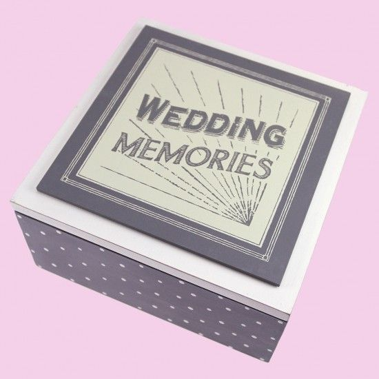 Wedding Keepsakes and Memory Boxes