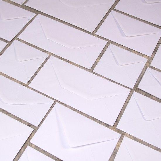 Plain White Envelopes