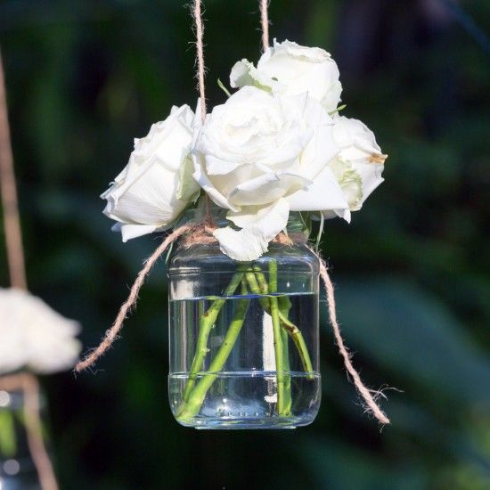 Glass Wedding Decorations
