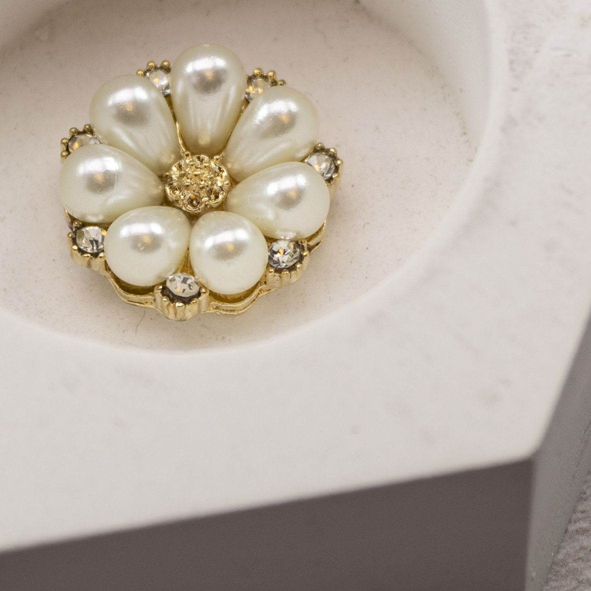 Gold Diamante and Pearl Embellishments category image