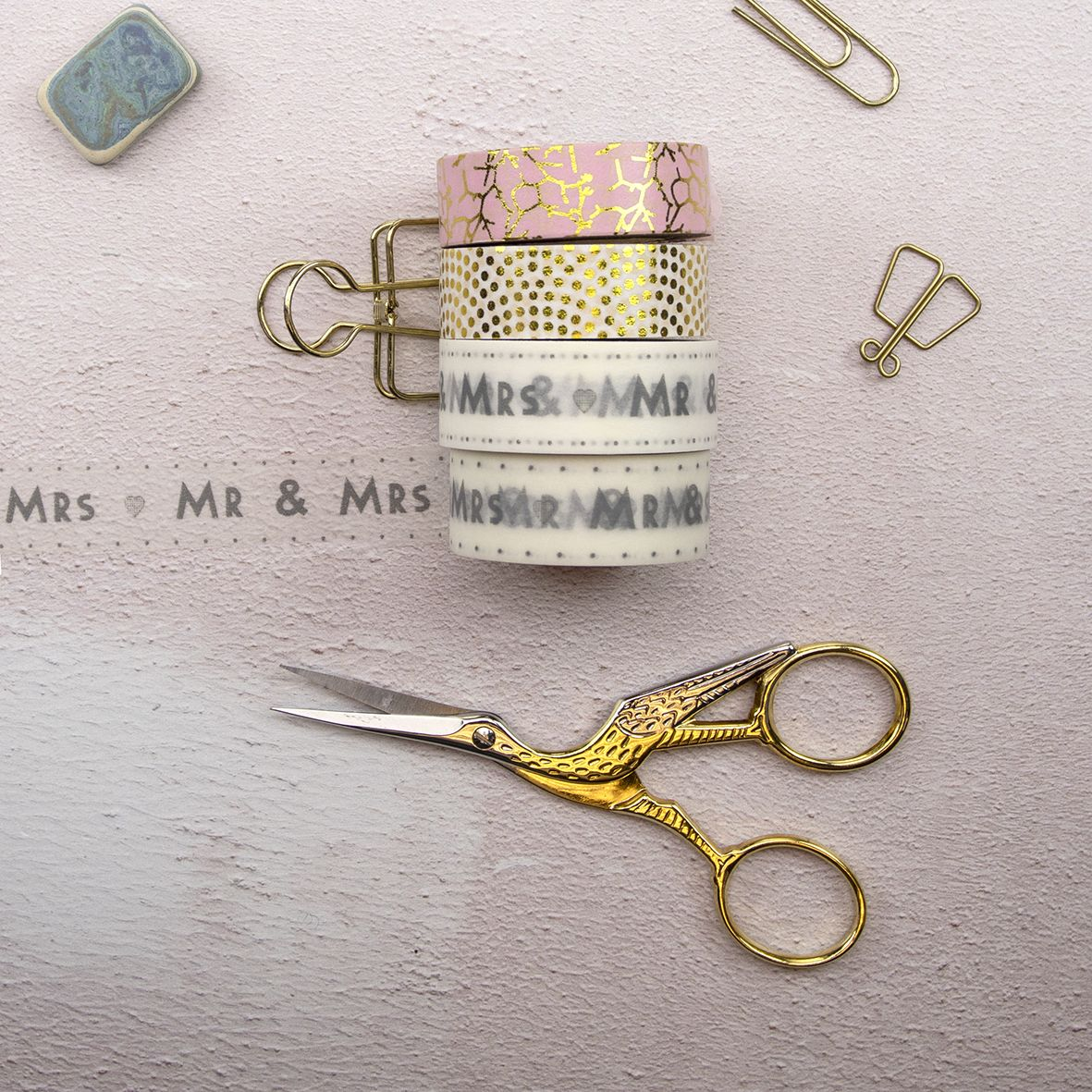 Glitter, Washi and Fabric Tapes category image