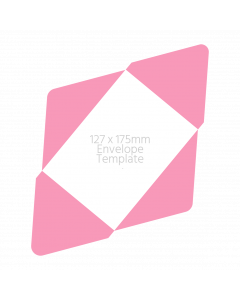 125 x 175mm Envelope Template