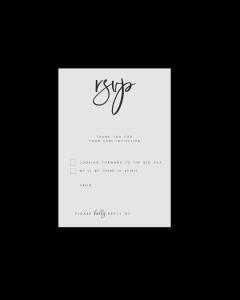 A6 Postcard Editable RSVP Card Template