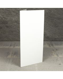 Creased Card Large Tall (DL) - Accent Antique Ivory