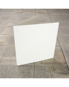 Creased Card Small Square - Antique Ivory