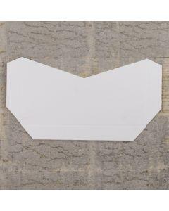 Enfolio Tentfold (Lg Sq) Add On Pocket - Antique White