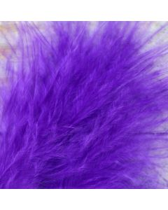 Purple Marabout Feathers