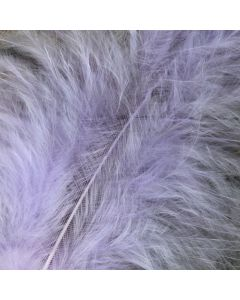 Lilac Marabout Feathers