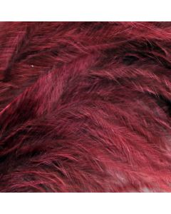 Wine Marabout Feathers