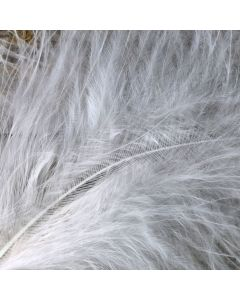 Ivory Marabout Feathers