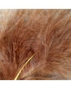 Light Brown Marabout Feathers