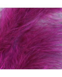 Magenta Marabout Feathers