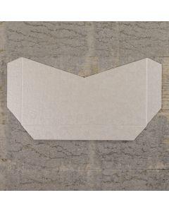 Enfolio Tentfold (Lg Sq) Add On Pocket - Applique Ivory
