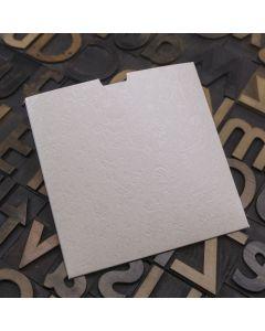 Enfolio Wallet 125mm Sq - Applique Ivory