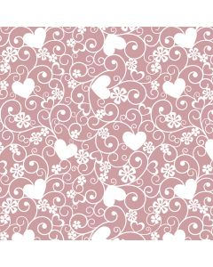 Amora Dusky Pink Decorative Paper - Zoom