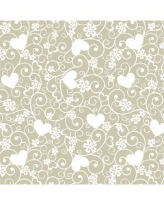 Amora Ivory Decorative Paper - Zoom