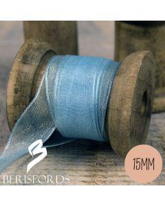 Berisford's Sheer Organza Ribbon 15mm