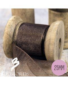 Berisford's Sheer Organza Ribbon 25mm