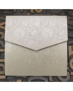 Enfolio Pocketfold (Lg Sq) - Broderie Ivory