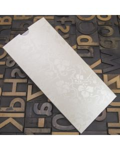 Enfolio Wallet (DL) - Broderie Ivory