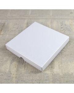 Large Square Raphael White Lustre Presentation Box