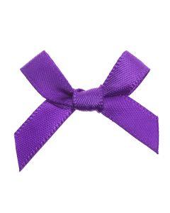 Purple Ribbon Bows 7mm