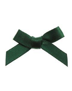 Bottle Green Ribbon Bows 7mm